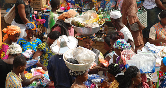 Kejetia Market Ghana by Jim O'Brien best markets in the world