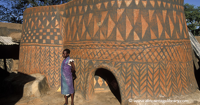 Palace of Paga Pio, Paga, Ghana © Ariadne Van Zandbergen
