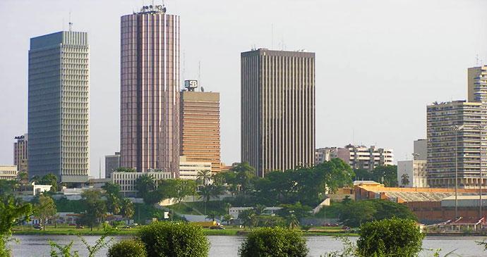 Abidjan Ivory Coast by Wikimedia Commons