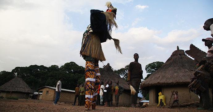 Dancers Dan Godufu Ivory Coast by Alex Sebley