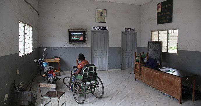 Disabled Artisans Centre Bouake Ivory Coast by Alex Sebley