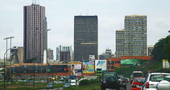 Le Plateau Abidjan Ivory Coast by Alex Sebley