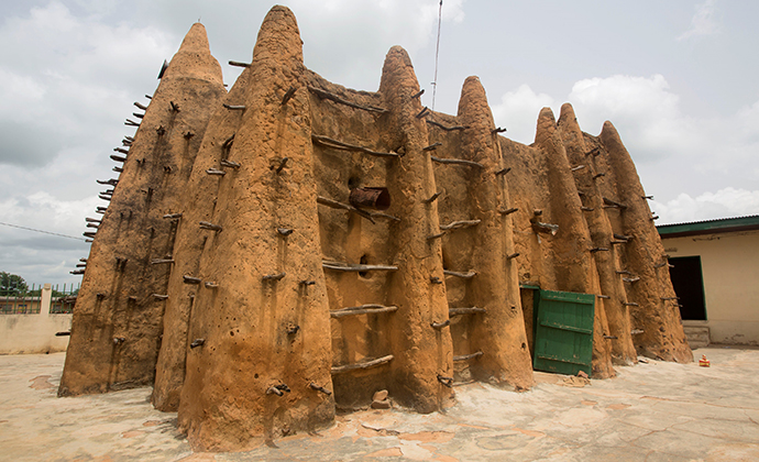 Sorobango Mosque Ivory Coast by Boris Kester