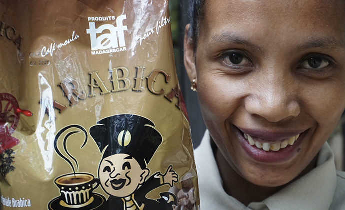 TAF Le Gourmet coffee Madagascar by Nicole Motteux