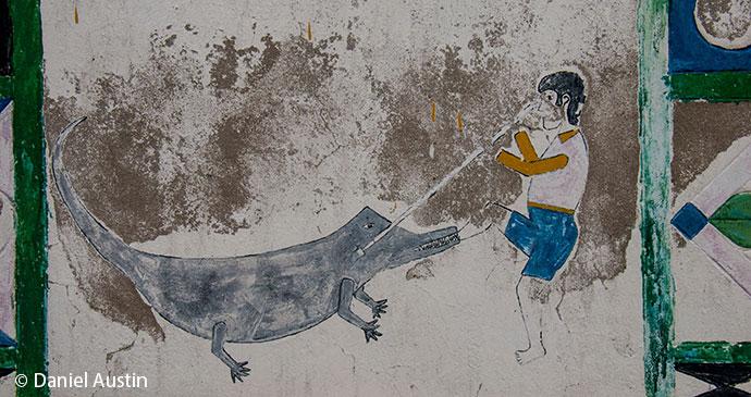 Tomb artwork Madagascar by Daniel Austin