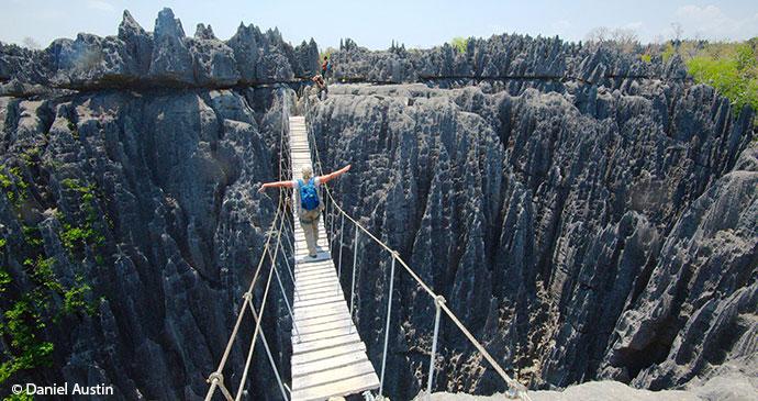 Grey tsingy Bemaraha Madagascar by Daniel Austin