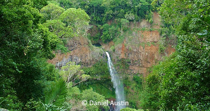 Waterfall Montagne d'Ambre National Park Madagascar Africa by Daniel Austin