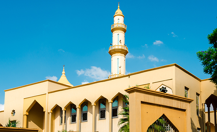Yellow mosque Lilongwe Malawi by Pil-Art Shutterstock