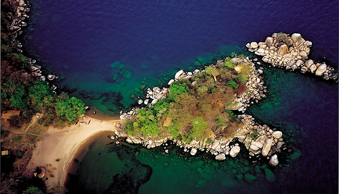 Mumbo Island Malawi by Malawi National Park
