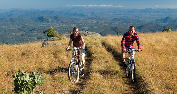 Mountain biking Nyika Plateau Malawi by © Malawi Tourism