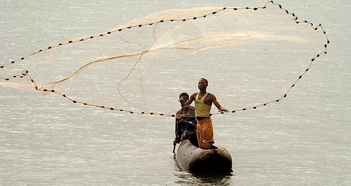 Fishermen, Likoma Island, Malawi by Kaya Mawa