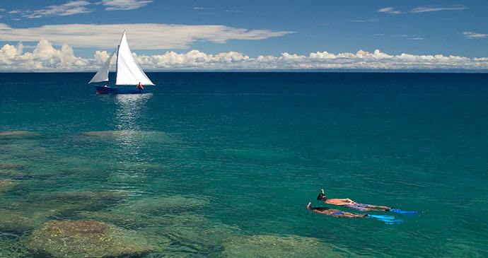 Snorkelling Likoma Island Malawi by Malawi Tourism