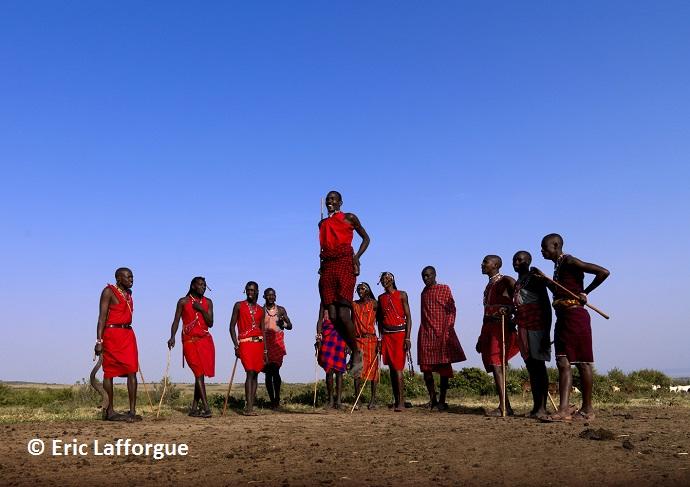 The Masaai Kenya by Eric Lafforgue
