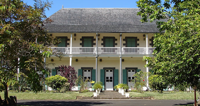 One of Mauritius's colonial mansions © NIphotos/Dreamstime