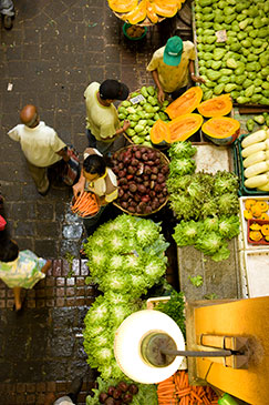 Fruit market Mauritius by Mauritius Tourism Promotion Authority