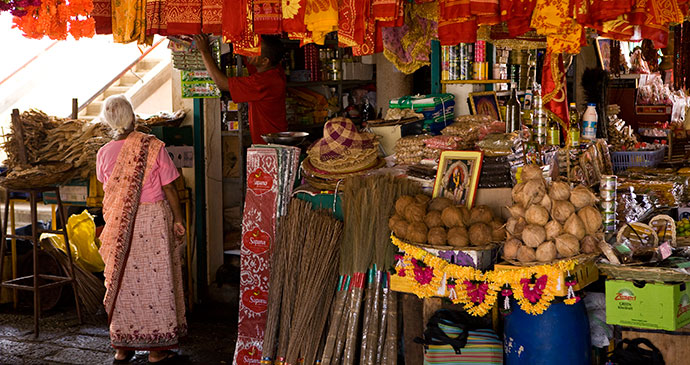 A typical market in Mauritius © Mauritius Tourism Promotion Authority