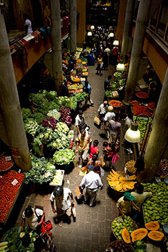 Central market Port Louis Mauritius Africa by Mauritius Tourism Promotion Authority