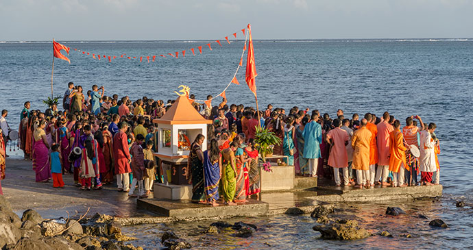 Ganesha celebrations at Baie du Cap © Lenise Calleja/Dreamstime