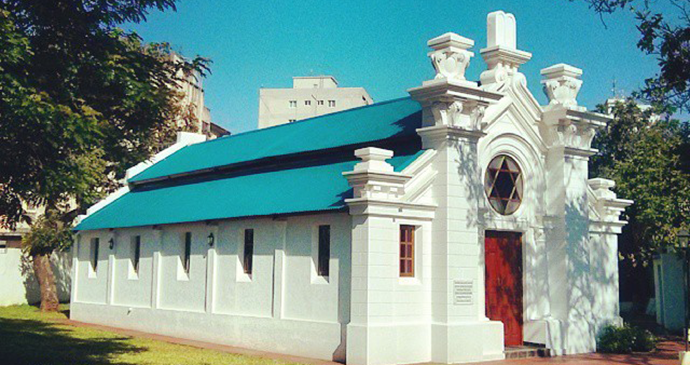 Synagogue Maputo Mozambique by Jcornelius, Wikimedia Commons