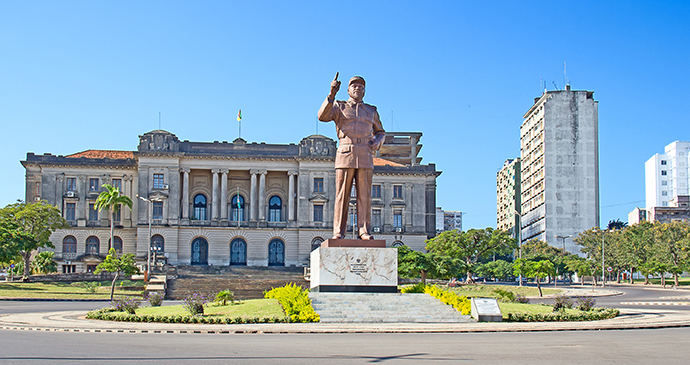 City Hall Maputo Mozambique by Fedor Selivanov, Shutterstock