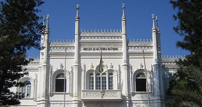 Natural History Museum Maputo Mozambique by James and Alex BonTempo, wikimedia commons