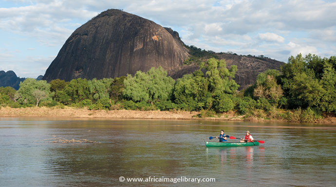 Niassa Reserve Lugenda River Mozambique by Africa Image Library