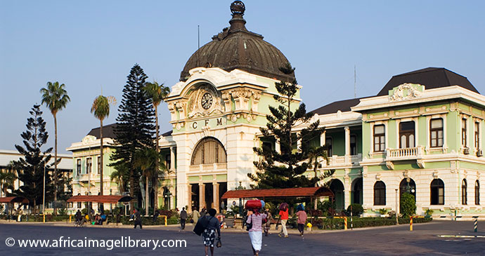 Station Maputo Mozambique by Africa Image Library
