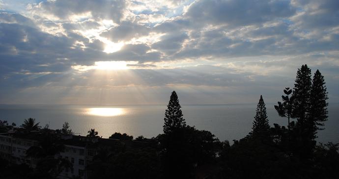 Sunrise Maputo bay Mozambique by Eric Pasqualli, Shutterstock