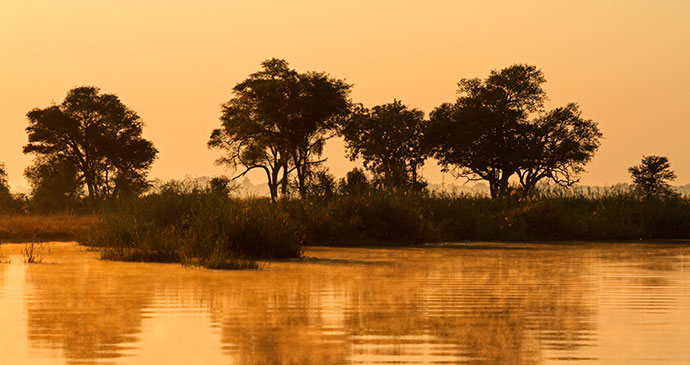 Kwando River Namibia by ecoprint, Shutterstock