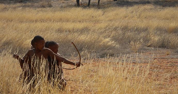 Bushmen Kalahari Namibia by Frank Vassen Flickr