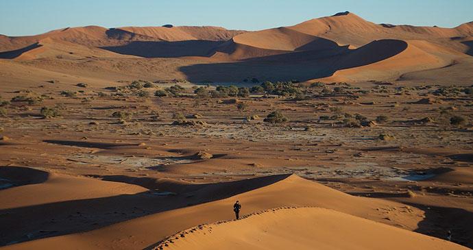 the vast Namib desert by Namibia Tourism