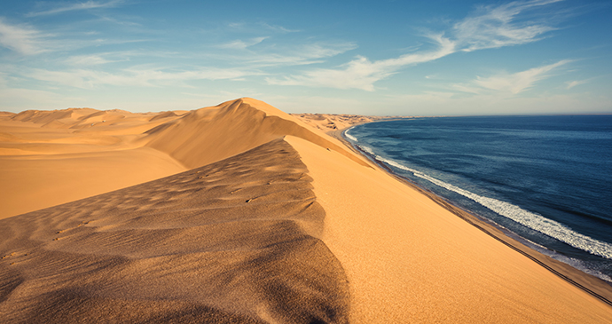 Sandwich Harbour, Namibia by WRJVisuals, Shutterstock