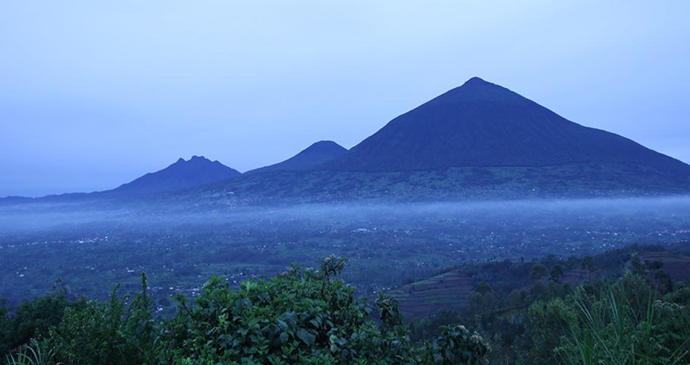Volcanoes National Park by Jean-Marie Kagaba Twambaze