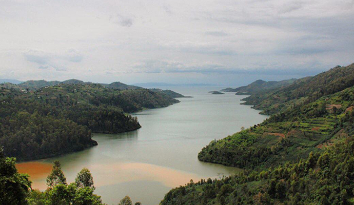 Lake Kivu by Jean-Marie Kagaba Twambaze