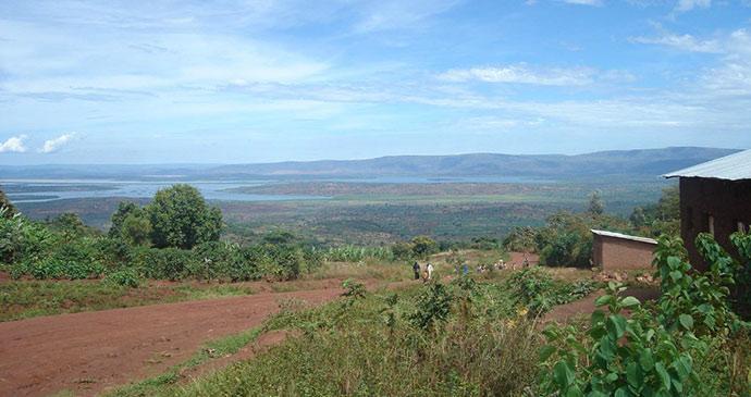 Lakes Rwanda by Janice Booth