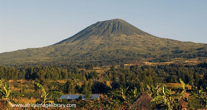 Volcano in Rwanda by © Ariadne Van Zandbergen, Africa Image Library
