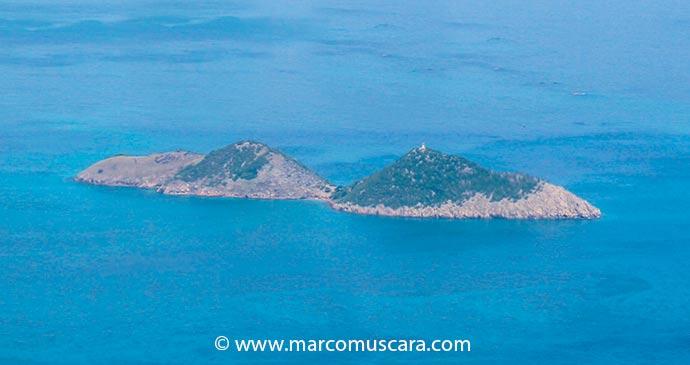 An aerial view of Cabras island, São Tomé and Príncipe by Marco Muscarà, www.marcomuscara.com