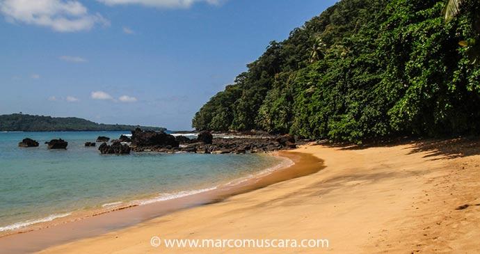 Praia Inhame Principe Sao Tome by Marco Muscara