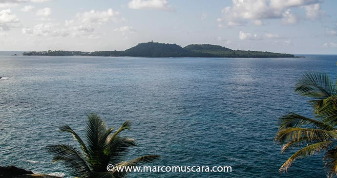 Panoramic views of Rolas Island from the southern coast, São Tomé and Príncipe by Marco Muscarà, www.marcomuscara.com