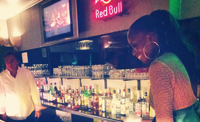 Bar, Dakar, Senegal © Sean Connolly
