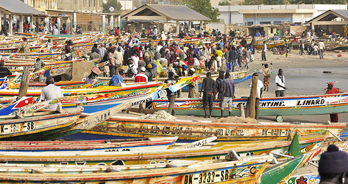 Fish market Dakar Senegal by Smandy, Dreamstime