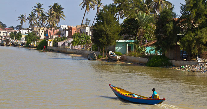 Saint-Louis, Senegal River, Senegal by Antpun, Dreamstime