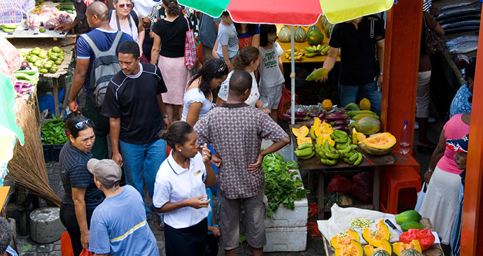 Market, Seychelles, Africa by Seychelles Tourism Board