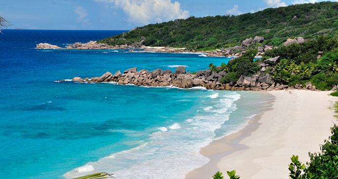 Petite Anse Beach La Digue Seychelles by Gerard Larose Seychelles Tourism Board