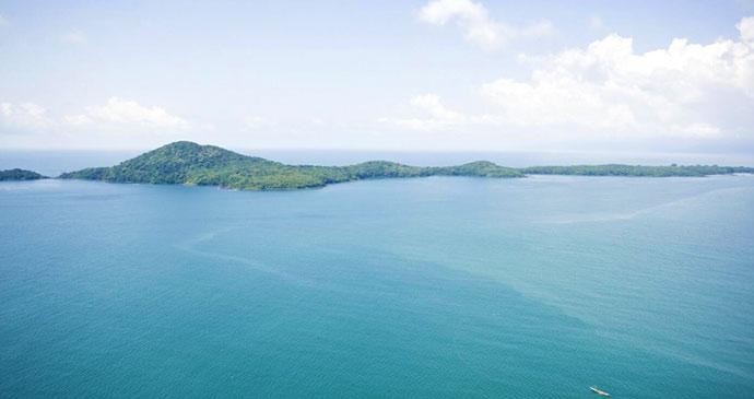 Banana Island Sierra Leone by National Tourist Board of Sierra Leone
