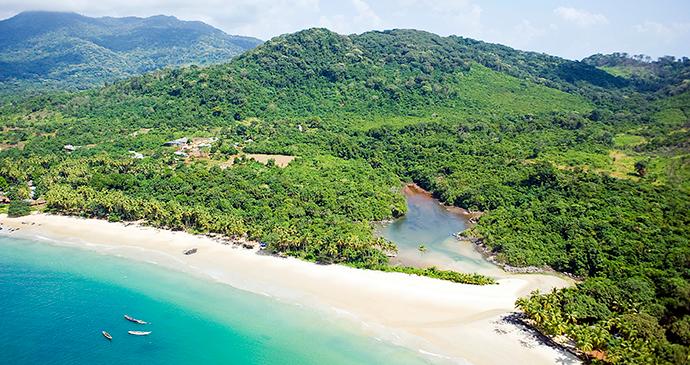 Bureh Beach Sierra Leone by National Tourist Board of Sierra Leone