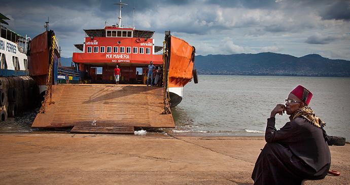 Freetown ferry at Aberdeen in Sierra Leone by robertonencini, Shutterstock