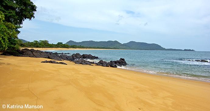 John Obey beach Sierra Leone by Katrina Manson