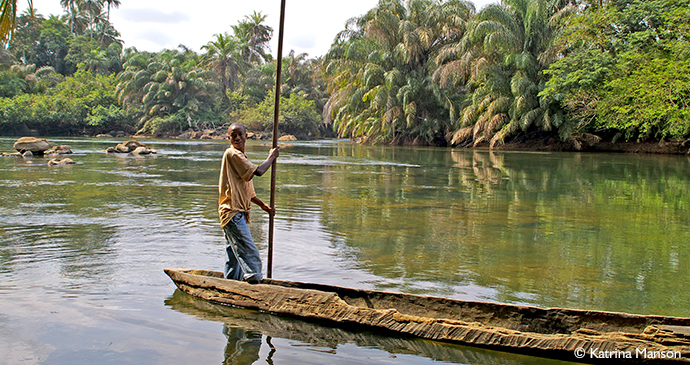 Tiwai Island Sierra Leone by Katrina Manson