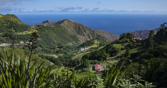 Island view St Helena By Scott Bennett